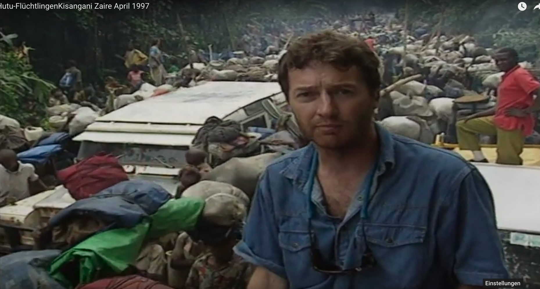 Andrea Müller Reporting from Kisangani 1996