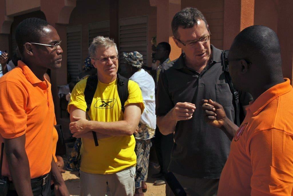 Dreharbeiten Niger 2012